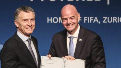 Photo of Mauricio Macri fue nombrado como presidente ejecutivo de la Fundación FIFA