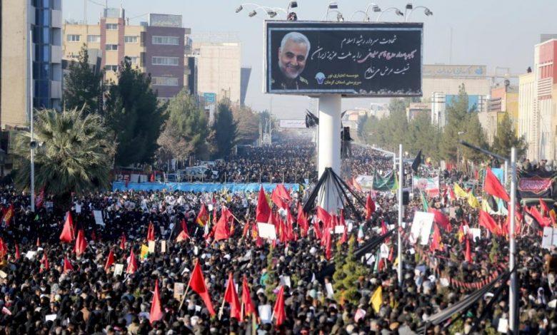 Photo of Tragedia en Irán: al menos 35 muertos por estampida durante el funeral de Qasem Soleimani