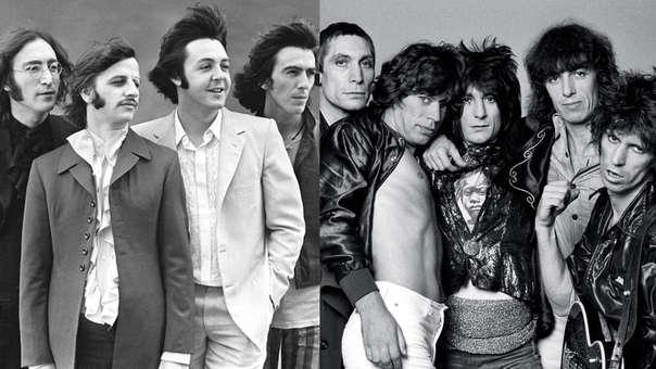Photo of Así fue el primer encuentro entre los Beatles y Rolling Stones