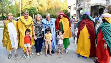"""Photo of Los Reyes también pasaron por la Residencia de Adultos Mayores """"Eva Perón"""""""