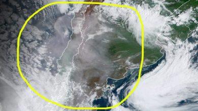 Photo of Incendios en Australia: el humo cruzó la cordillera de Los Andes