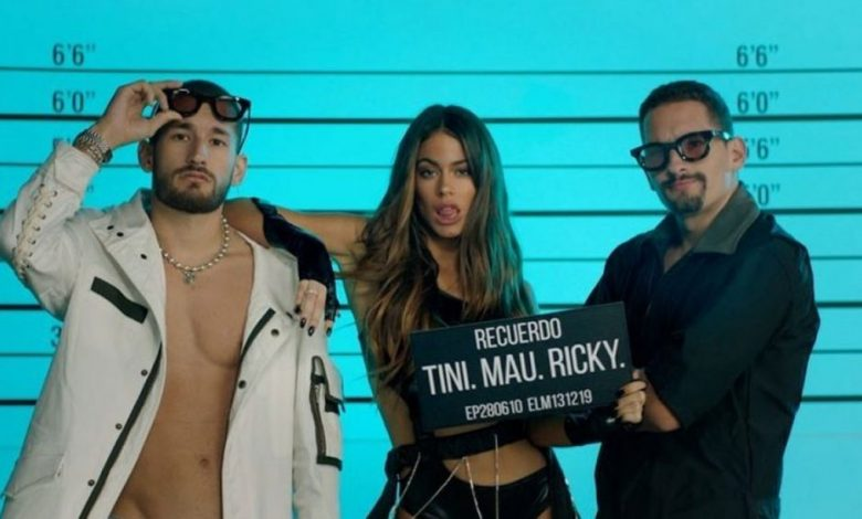 Photo of Tini seduce con «Recuerdo», su nuevo video junto a Mau y Ricky