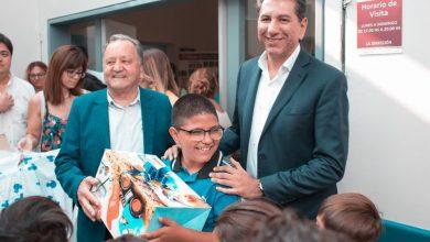 Photo of Los Reyes Magos pasaron por los hospitales de Sarmiento y de Pocito