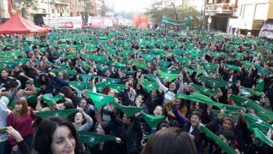 Photo of Nuevo pañuelazo verde por el aborto legal en todo el país