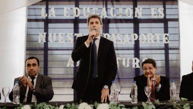 Photo of Sergio Uñac inauguró el ciclo lectivo en Iglesia y anunció una batería de obras