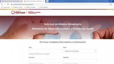 Photo of Se habilitó el sistema para solicitar el Módulo Alimentario de Emergencia
