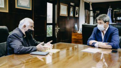 Photo of Sergio Uñac recibió la visita del arzobispo de San Juan, monseñor Jorge Lozano