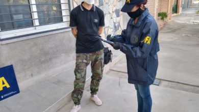 Photo of Detuvieron a un joven con cigarrillos de marihuana