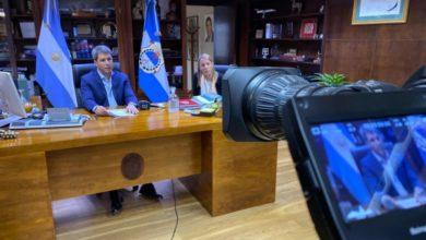 Photo of Uñac mantuvo una teleconferencia con el ministro de Transporte de la Nación