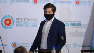 Photo of Kicillof publicará dos partes diarios con los contagios