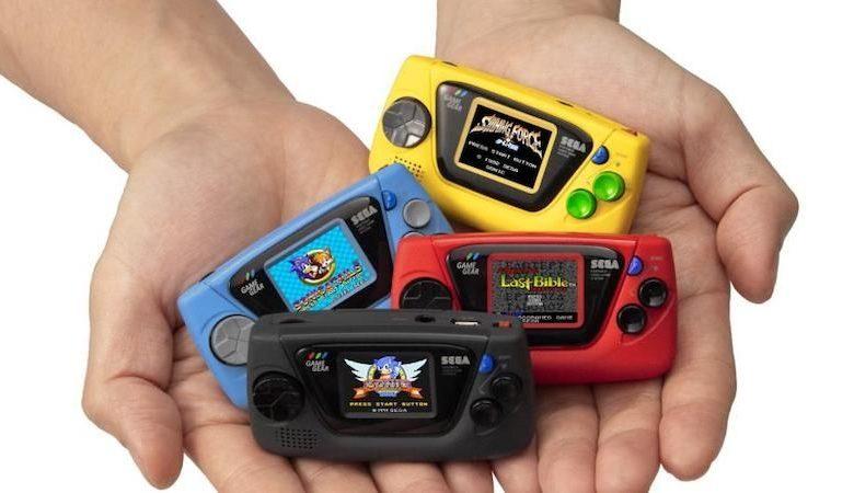 Photo of Game Gear Micro: la portátil en miniatura de SEGA sale en octubre en Japón