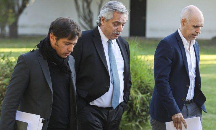 Photo of Reunión clave: Alberto recibe mañana a Larreta y Kicillof para definir cómo sigue la cuarentena
