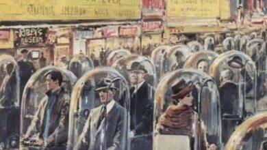 Photo of La imagen de 1962: 'La vida en 2022' que mostraba a los humanos en cápsulas