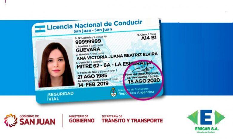 Photo of Prorrogan por 45 días el vencimiento de licencias de conducir