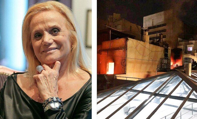Photo of Se incendió el departamento de Elsa Serrano en Retiro: encontraron a una mujer muerta