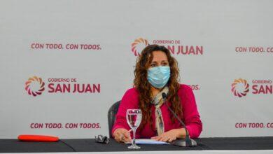 """Photo of Mónica Jofré: """"En San Juan aún no se puede declarar la circulación viral"""""""