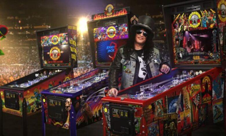 Photo of Guns N' Roses tiene su propio flipper y está tremendo