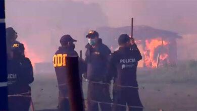Photo of Tensión en Guernica: unos 4.000 efectivos de la policía avanzan sobre la toma para concretar el desalojo