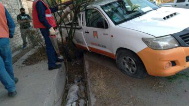 Photo of Robó una camioneta de Energía San Juan y terminó en una cuneta