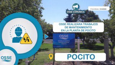 Photo of OSSE realizará trabajos de mantenimiento en la planta potabilizadora de Pocito