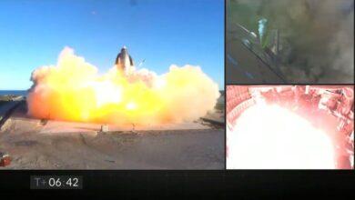 Photo of Video: se estrelló el prototipo de la nave de SpaceX