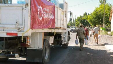 Photo of El Gobierno continúa asistiendo a las familias afectadas por el sismo