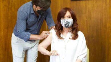 Photo of Cristina Fernández fue vacunada con la Sputnik V