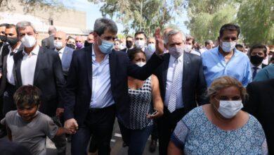 Photo of El Presidente Fernández recorrió zonas afectadas por el terremoto