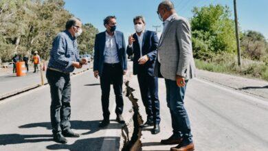 Photo of Tras el sismo, Katopodis viajó a San Juan para poner en marcha junto a Uñac la reparación de la Ruta 40