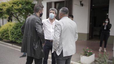 Photo of Tapia y Tinelli visitaron al Gobernador Uñac a un día de la definición de la Copa Maradona