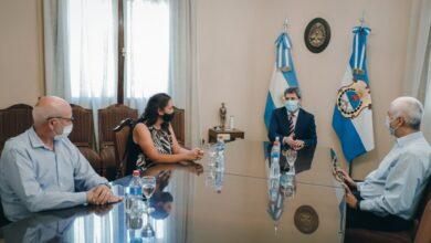 Photo of Uñac se reunió con directivos del proyecto minero Josemaría