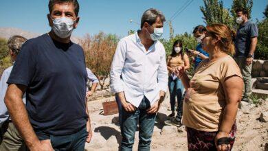 Photo of Uñac visitó Pocito luego del terremoto